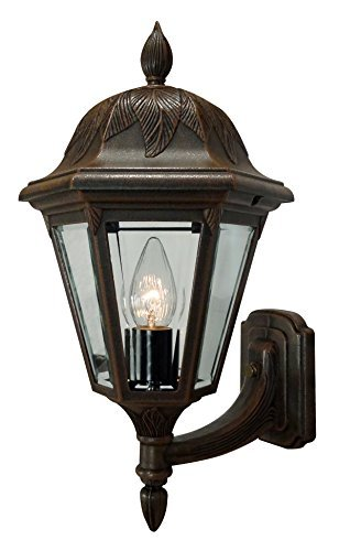 Special Lite Products Floral F-1947-CP/BV Small Bottom Mount Light, Copper ()