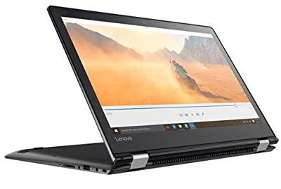 "Lenovo Flex 4 15.6"" Full HD Touchscreen 2-in-1 Laptop Computer, Intel 7th Gen Dual Core i7-7500U 2.7GHz, 16GB RAM, 256GB SSD, USB 3.0, HDMI, 802.11ac, Bluetooth, Windows 10 (Certified Refurbished)"