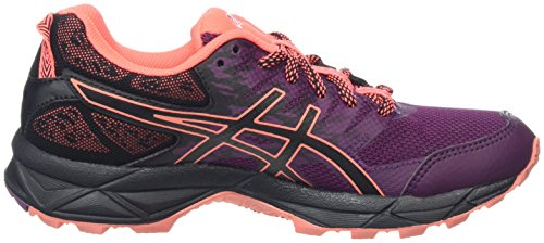 Dark Purple Asics Trail de Black Sonoma Coral G 3 Flash Chaussures Femme Violet TX 646zYr