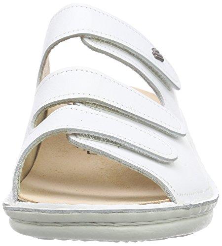 Finn ComfortPisa - Sandalias de Punta Descubierta Mujer Blanco - blanco (blanco)