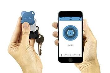 Rastreador por Bluetooth Lapa 2. Encuentra Tus Llaves, Cartera, Bolso, Mascotas e Incluso tu Smartphone (Azul + Blanco + Negro).: Amazon.es: Electrónica