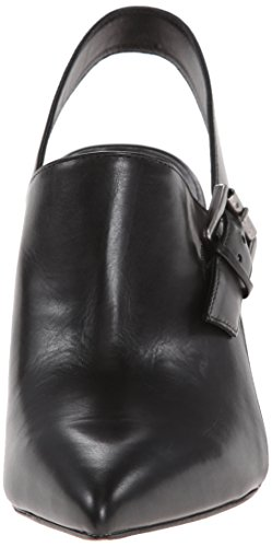 Belle by Sigerson Morrison Women's Betania Mule Leather Black 1tPE4pP