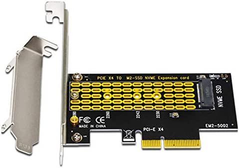 poetryer M2 NVME M2 Adaptador PCIE Adaptador PCIE a M2 PCI ...