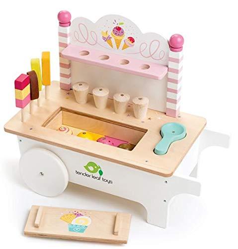 'Spielzeug Eiswagen - Holzspielzeug Peitz Eiswagen Holz Kinder