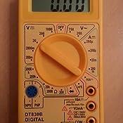 how to use the neiko 40508 830b digital mulitmeter