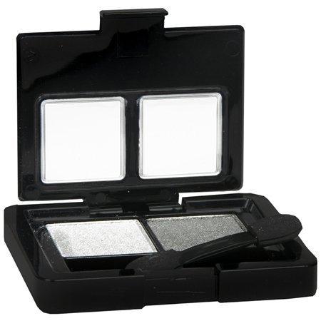 (Black Radiance Dynamic Duo Eye Shadow Chrome/Steel by Black Radiance)