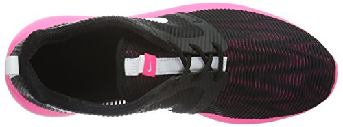 Black White White Weight Roshe Hyper Pink One black Baskets NIKE GS Nero Fille Flight Hyper Pink Noir BxHwqnzv
