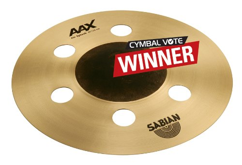 SABIAN 21005 X A 25, 4 cm AAX Air Splash Effect Becken SABIAN 21005 X A 25 Sabian - Direct 21005XA