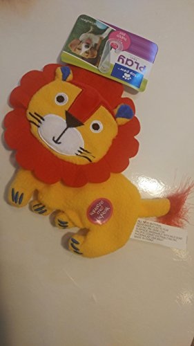 Lion Felt & Fleece Squeaky Dog ()