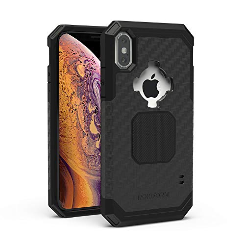 Rokform - iPhone XS Max Magnetic Case with Twist Lock, Military Grade Rugged iPhone Case Series (Black)