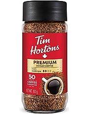 Tim Hortons Medium Roast Instant Coffee, 100% Colombian, 100g Jar