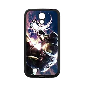 Custom Iron Man Back Cover Case for SamSung Galaxy S4 I9500 JNS4-196