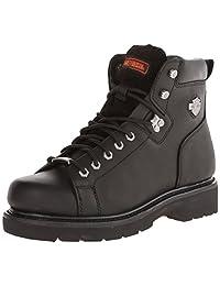 Harley-Davidson Men's Barton Lace-To-Toe Motorcycle Boot