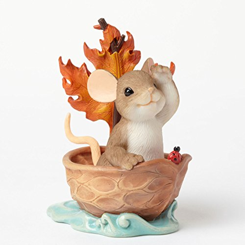 Enesco Charming Tails Beautiful Things Figurine, 3.125-Inch