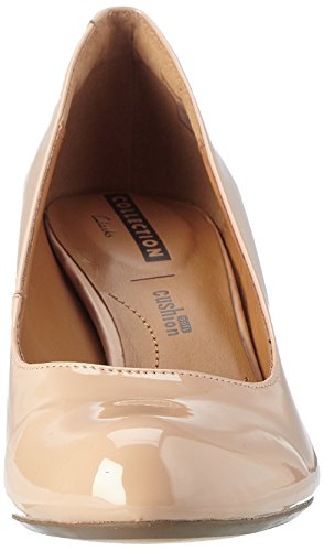 Women's Arista Shoes Patent Clarks Court Abe Nude Beige qEAdgcFRwx
