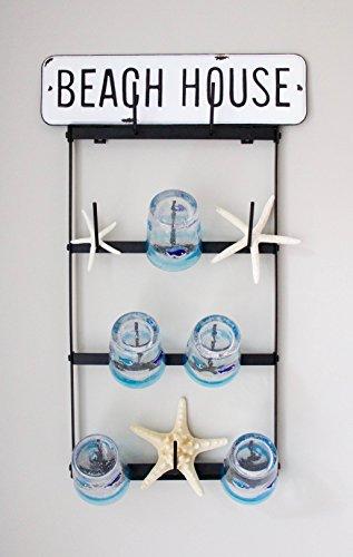 Claimed Corner Mini Wall Mounted Mug Rack - 4 Row Metal Storage Display Organizer For Coffee Mugs, Tea Cups, Mason Jars, and More. by Claimed Corner (Image #4)