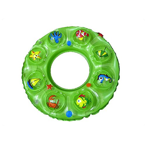 Price comparison product image Besde swimming Ring Children float toys Float Ring Party Bath Circle ring (Green)