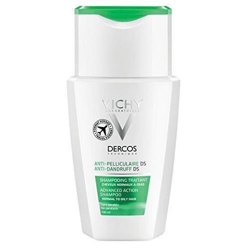 Vichy Dercos Shampoo Caspa Grasa, 100 ml