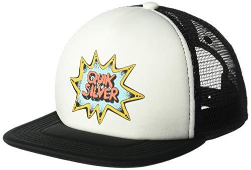 QUIKSILVER Little SNAGS BOY Trucker HAT, White, 1SZ (Little Boys Hat Quiksilver)