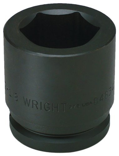 (Wright Tool 84864 4-Inch 6 Point Standard Impact Socket with 1-1/2-Inch Drive by Wright Tool)