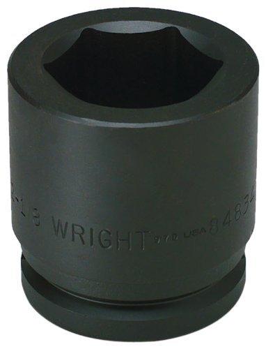 Wright Tool 68-91MM 21MM 3/4-Inch Drive Square Budd Wheel Metric Impact Socket by Wright Tool