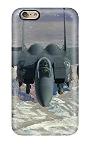 Lovers Gifts Iphone Tpu Phone Case With Fashionable Look For Iphone 6 Jet Fighter 2417861K18694473