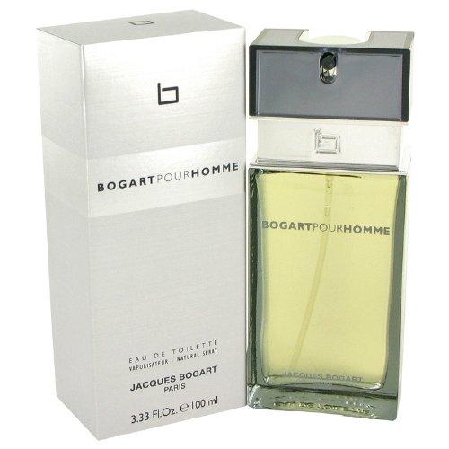 Bogart Pour Homme by Jacques Bogart Men's Eau De Toilette Spray 3.4 oz - 100% Authentic Bogart Pour Homme Cologne