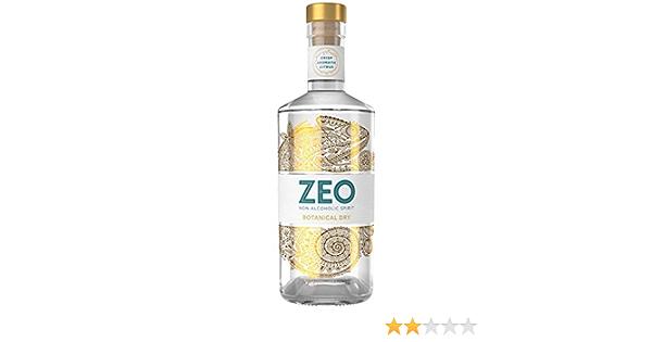 ZEO Botanical Dry Alcohol Free Spirit – 70cl Premium Non ...