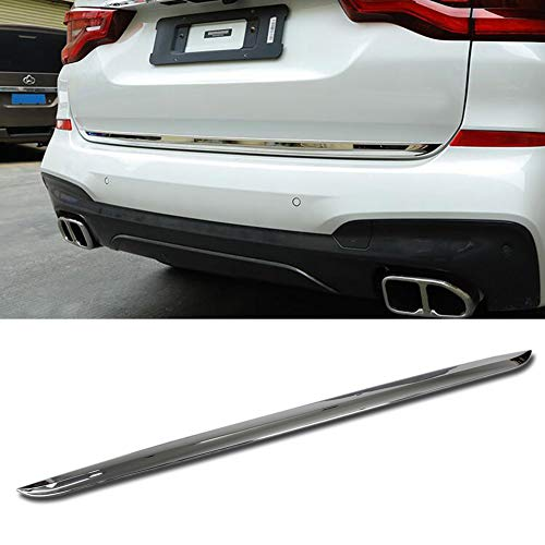 - Beautost Fit for BMW New X3 2018 2019 Rear Hatch Door Edge Trunk Lid Molding Cover Trim Chrome