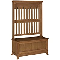Powell Furniture 15A7059 Oak Hall Bedroom