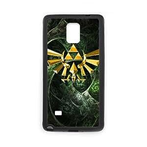Samsung Galaxy Note 4 Phone Case Black The Legend of Zelda DY7713846