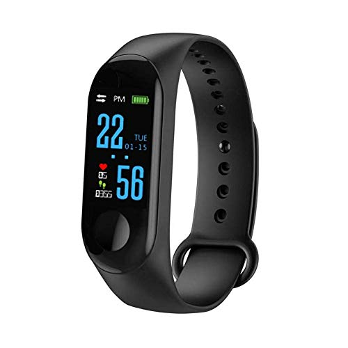RELEE Fitness Tracker Watch, Smart Bracelet Watch IP67 Waterproof for Kids Wristband Watch for iOS iPhone & Android Samsung Phone