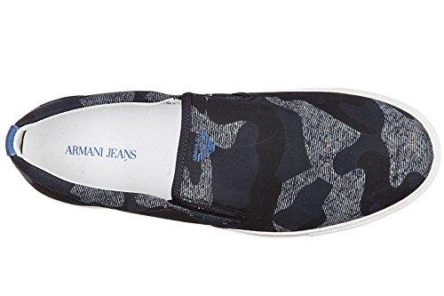 Schwarz 9350647p404 Mokassins Blu Armani Jeans Herren qtIwgHv0