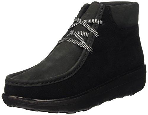 Altas Nero Zapatillas Black Chukkamoc Boot para Fitflop Mujer qZztxMU