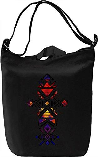 Vivid Tribal Borsa Giornaliera Canvas Canvas Day Bag| 100% Premium Cotton Canvas| DTG Printing|