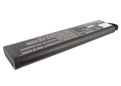Battery2go Li-ion BATTERY Pack Fits GE Dash 400, Dash 300, DR201, Dash 500, SM201-6 by VINTRONS