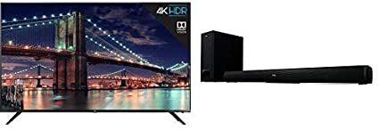 "TCL 75/"" 4K Ultra HD Dolby Vision HDR Roku Smart TV 75R617"