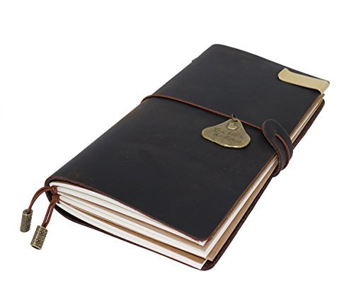 AMAZING BUNDLE Gift, Refillable Leather Journal Refillable Travelers Notebook Refillable Travelers Journal, , Perfect Gift for Men & Women To Write In,Gifts, Fountain Pen Users, - Gift Card Canada Send E
