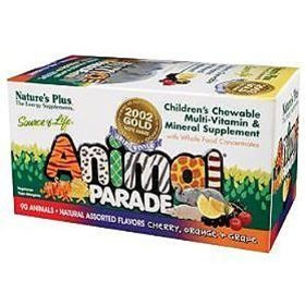Nature's Plus - Animal Parade, Assorted Flavors, Cherry, Orange, Grape,