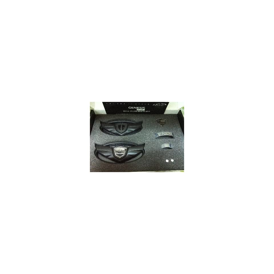 Black Wing/stickers Emblems 2.0 T Fits Hyundai Genesis Coupe