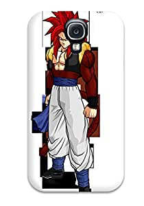 Snap-on Case Designed For Galaxy S4- Vegeta Ssj