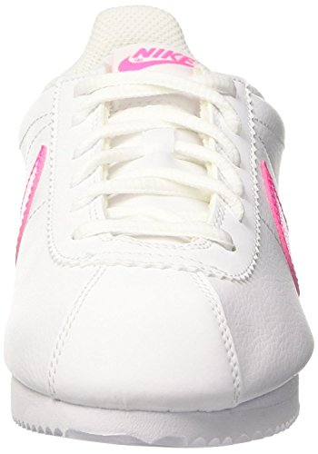 Nike Cortez (Gs), Zapatillas de Running para Niños WHITE PINK BLAST