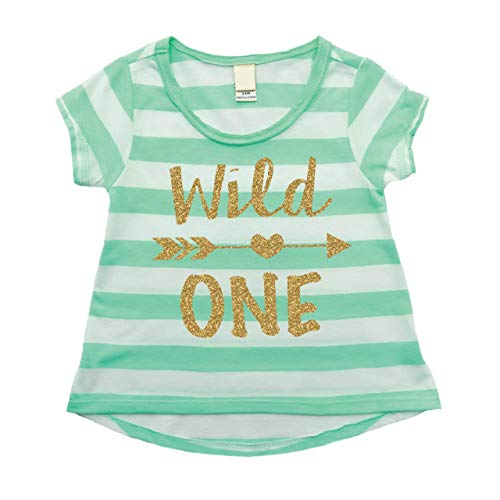 First Birthday Outfit Girl, Wild One Year Old 1st Birthday Girl Outfit Green