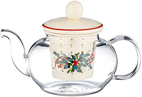 Lenox Winter Greetings Tea for One with Infuser, ()