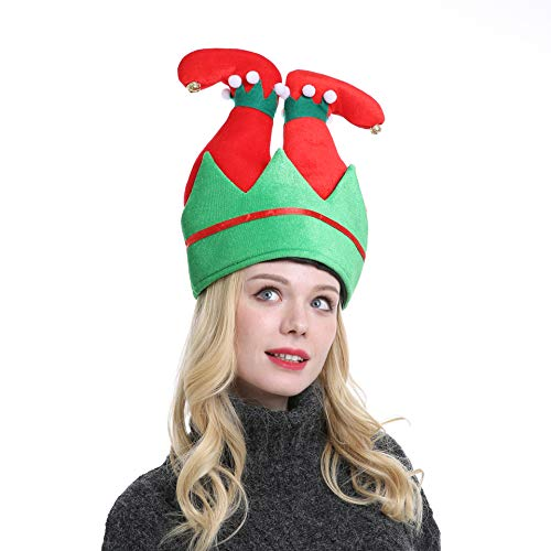Novelty Christmas Headwear - Novelty Christmas Elf Pants Hat Unisex-Adult's