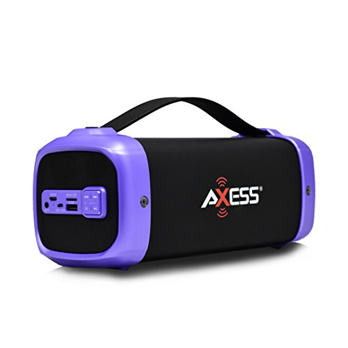 AXESS SPBT1074 Portable Indoor/Outdoor Bluetooth Media Speak