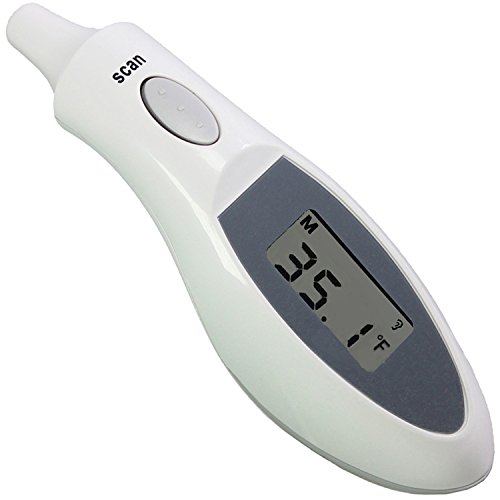 Lotfancy Medical Infrared Ear Thermometer To Monitor Fever