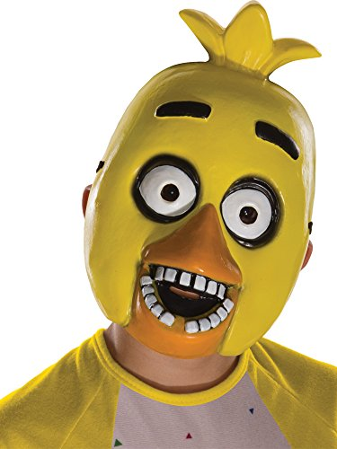 Five Nights at Freddy's Chica Child's Half Mask]()