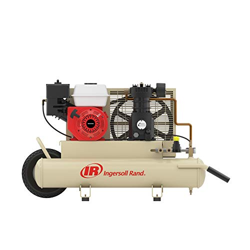 Ingersoll-Rand SS3J5.5GH-WB 5.5 Horsepower 8 Gallon Oiled Gas Twin Pontoon Compressor (Ingersoll Rand Industrial Air Compressors)