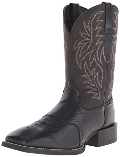 Ariat Men's Sport Western Cowboy Boot, Black, 13 D(M) US